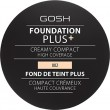 GOSH Foundation Plus + Creamy Compact High Coverage Ivory 9 g