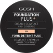GOSH Foundation Plus + Creamy Compact High Coverage Natural 9 g